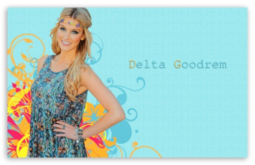 Delta Goodrem Hippie Look HD wallpaper for Wide 16:10 5:3 Widescreen WHXGA WQXGA WUXGA WXGA WGA ; HD 16:9 High Definition WQHD QWXGA 1080p 900p 720p QHD nHD ; Standard 3:2 Fullscreen DVGA HVGA HQVGA devices ( Apple PowerBook G4 iPhone 4 3G 3GS iPod Touch ) ; Mobile 5:3 3:2 16:9 - WGA DVGA HVGA HQVGA devices ( Apple PowerBook G4 iPhone 4 3G 3GS iPod Touch ) WQHD QWXGA 1080p 900p 720p QHD nHD ;
