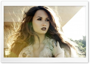 Demi Lovato HD Wide Wallpaper for Widescreen