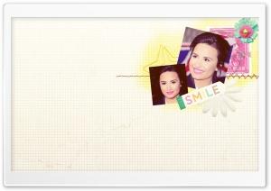 Demi Lovato Smile HD Wide Wallpaper for Widescreen
