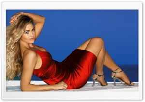 Denise Richards Young HD Wide Wallpaper for Widescreen
