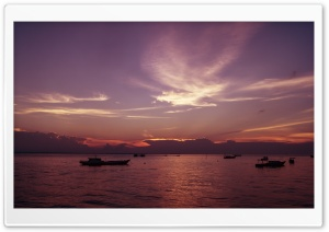 Derawan Islands, East Borneo, Indonesia HD Wide Wallpaper for Widescreen