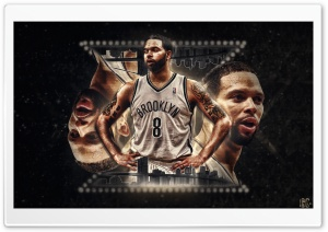 Deron Williams Brooklyn HD Wide Wallpaper for 4K UHD Widescreen desktop & smartphone