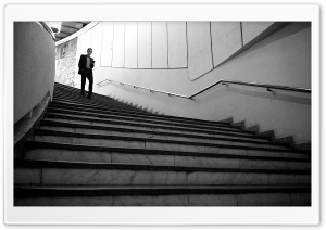 Descending Stairs HD Wide Wallpaper for Widescreen