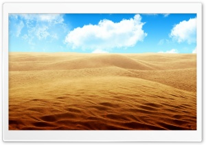 Desert - Sky HD Wide Wallpaper for Widescreen