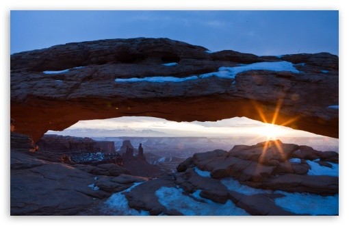 Desert Arch   Winter HD wallpaper for Wide 16:10 5:3 Widescreen WHXGA WQXGA WUXGA WXGA WGA ; HD 16:9 High Definition WQHD QWXGA 1080p 900p 720p QHD nHD ; Standard 4:3 5:4 3:2 Fullscreen UXGA XGA SVGA QSXGA SXGA DVGA HVGA HQVGA devices ( Apple PowerBook G4 iPhone 4 3G 3GS iPod Touch ) ; Tablet 1:1 ; iPad 1/2/Mini ; Mobile 4:3 5:3 3:2 16:9 5:4 - UXGA XGA SVGA WGA DVGA HVGA HQVGA devices ( Apple PowerBook G4 iPhone 4 3G 3GS iPod Touch ) WQHD QWXGA 1080p 900p 720p QHD nHD QSXGA SXGA ;