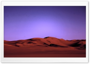 Desert At Night HD Wide Wallpaper for Widescreen