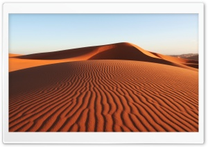 Desert Dunes HD Wide Wallpaper for Widescreen