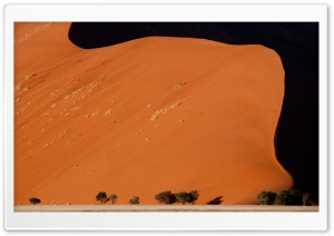 Desert Dunes, Sesriem, Sossusvlei HD Wide Wallpaper for Widescreen
