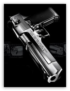 Desert Guns HD wallpaper for Mobile VGA - VGA QVGA Smartphone ...