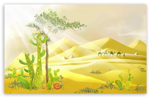 Desert Illustration HD wallpaper for Wide 16:10 5:3 Widescreen WHXGA WQXGA WUXGA WXGA WGA ; HD 16:9 High Definition WQHD QWXGA 1080p 900p 720p QHD nHD ; Standard 4:3 5:4 3:2 Fullscreen UXGA XGA SVGA QSXGA SXGA DVGA HVGA HQVGA devices ( Apple PowerBook G4 iPhone 4 3G 3GS iPod Touch ) ; iPad 1/2/Mini ; Mobile 4:3 5:3 3:2 16:9 5:4 - UXGA XGA SVGA WGA DVGA HVGA HQVGA devices ( Apple PowerBook G4 iPhone 4 3G 3GS iPod Touch ) WQHD QWXGA 1080p 900p 720p QHD nHD QSXGA SXGA ;