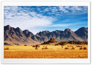 Desert Mountains HD Wide Wallpaper for Widescreen