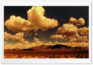 Desert Mountains Panorama HD Wide Wallpaper for Widescreen