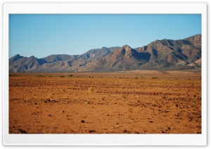 Desert Mountains Scenery HD Wide Wallpaper for Widescreen