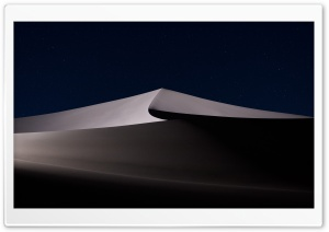 Desert Night HD Wide Wallpaper for Widescreen