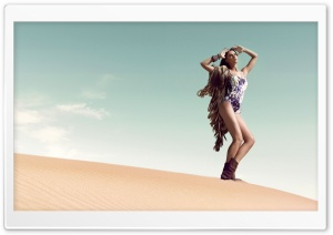 Desert Photo Session HD Wide Wallpaper for Widescreen