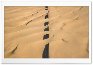 Desert Road HD Wide Wallpaper for Widescreen