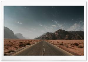 Desert Road Ultra HD Wallpaper for 4K UHD Widescreen desktop, tablet & smartphone