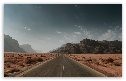 Download Desert Road HD Wallpaper