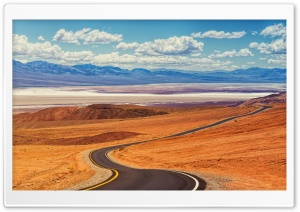 Desert Road Landscape Ultra HD Wallpaper for 4K UHD Widescreen desktop, tablet & smartphone