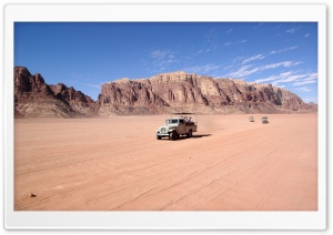 Desert Safari HD Wide Wallpaper for Widescreen