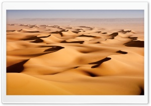 Desert Sand Dunes HD Wide Wallpaper for Widescreen