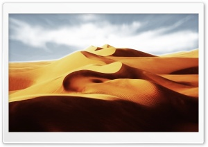 Desert Sand Dunes Landscape Ultra HD Wallpaper for 4K UHD Widescreen desktop, tablet & smartphone