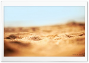 Desert Sand Macro HD Wide Wallpaper for Widescreen