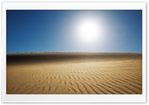 Desert Sun HD Wide Wallpaper for Widescreen