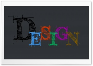 Design Typography HD Wide Wallpaper for Widescreen