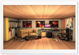 Designer's Room HD Wide Wallpaper for Widescreen