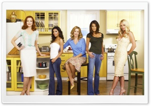 Desperate Housewives HD Wide Wallpaper for Widescreen