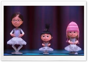Despicable Me 2 Ballet HD Wide Wallpaper for 4K UHD Widescreen desktop & smartphone