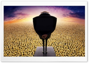Despicable Me 2 Gru and Minions HD Wide Wallpaper for Widescreen