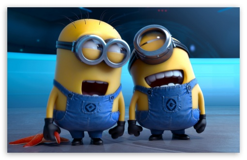 Download Despicable Me 2 Laughing Minions HD Wallpaper