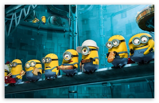 Despicable Me 2 Minions HD wallpaper for Wide 16:10 5:3 Widescreen WHXGA WQXGA WUXGA WXGA WGA ; HD 16:9 High Definition WQHD QWXGA 1080p 900p 720p QHD nHD ; Mobile 5:3 16:9 - WGA WQHD QWXGA 1080p 900p 720p QHD nHD ;