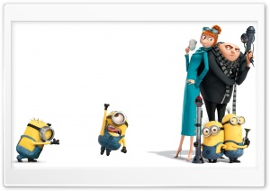 Despicable Me 2 HD Wide Wallpaper for Widescreen