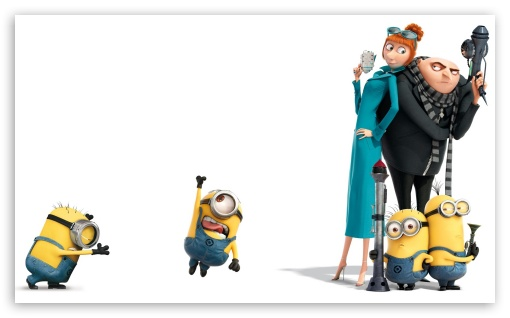 Despicable Me 2 HD wallpaper for Wide 5:3 Widescreen WGA ; HD 16:9 High Definition WQHD QWXGA 1080p 900p 720p QHD nHD ; Standard 4:3 5:4 Fullscreen UXGA XGA SVGA QSXGA SXGA ; Tablet 1:1 ; iPad 1/2/Mini ; Mobile 4:3 5:3 3:2 16:9 5:4 - UXGA XGA SVGA WGA DVGA HVGA HQVGA devices ( Apple PowerBook G4 iPhone 4 3G 3GS iPod Touch ) WQHD QWXGA 1080p 900p 720p QHD nHD QSXGA SXGA ;