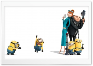 Despicable Me 2 Ultra HD Wallpaper for 4K UHD Widescreen desktop, tablet & smartphone