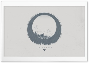 Destiny - Traveler White HD Wide Wallpaper for Widescreen