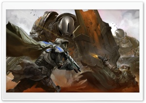 Destiny Battleground HD Wide Wallpaper for Widescreen