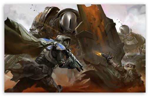 Destiny Battleground 4K HD Desktop Wallpaper For 4K Ultra