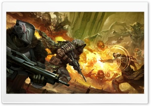 Destiny, Fire Team HD Wide Wallpaper for Widescreen