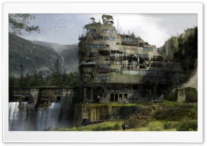 Destiny, Ghost Town HD Wide Wallpaper for Widescreen