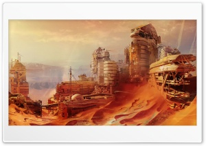 Destiny, Mars HD Wide Wallpaper for Widescreen