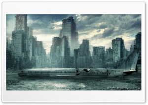 Destroyed City HD Wide Wallpaper for 4K UHD Widescreen desktop & smartphone