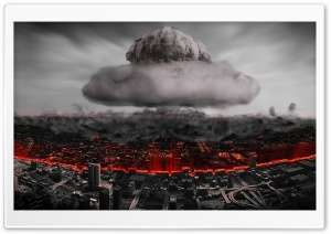 Destruio Nuclear HD Wide Wallpaper for Widescreen