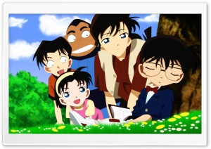 Detective Conan HD Wide Wallpaper for Widescreen