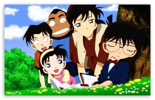 Detective Conan HD wallpaper for Wide 16:10 5:3 Widescreen WHXGA WQXGA WUXGA WXGA WGA ; Standard 3:2 Fullscreen DVGA HVGA HQVGA devices ( Apple PowerBook G4 iPhone 4 3G 3GS iPod Touch ) ; Mobile 5:3 3:2 - WGA DVGA HVGA HQVGA devices ( Apple PowerBook G4 iPhone 4 3G 3GS iPod Touch ) ;