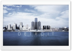 Detroit HD Wide Wallpaper for Widescreen