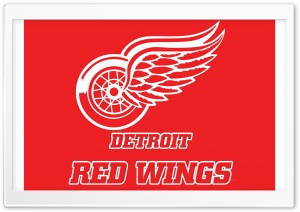 Detroit Red Wings HD Wide Wallpaper for 4K UHD Widescreen desktop & smartphone